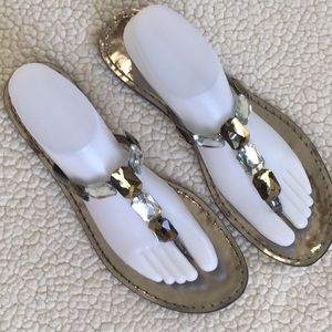 Franco Sarto Shoes - Franco Sarto embellished sandals sz 10
